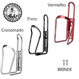 Suporte para garrafa/caramanhola em alumínio para bicicleta bike ciclismo