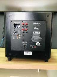 "Polk Audio DSW-PRO 440 - Subwoofer ativo de 8"" com 180w RMS Bivolt"