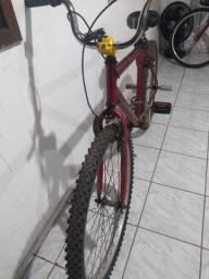 Vendo bicicleta semi nova,aro 29