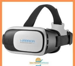 Óculos de Realidade Virtual 3D Warrior Multilaser Original
