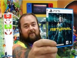 Returrnal ps5 a pronta entrega. Venha conhecer a maior loja de games do ABC!