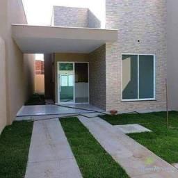 Casa com 2 dormitórios à venda, 63 m² por R$ 195.000,00 - Encantada - Eusébio/CE