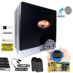 Kit 1 Motor Ppa Dz Hub 2 Control Portão Deslizante 450kg