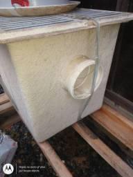 Caixa passagem , coletora , água pluvial , fibra