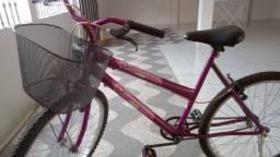 Bicicleta Feminina Com Cestinha