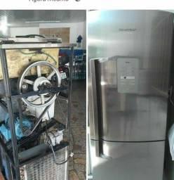 Conserto de geladeira e máquina de sorvete e câmara frigorífica