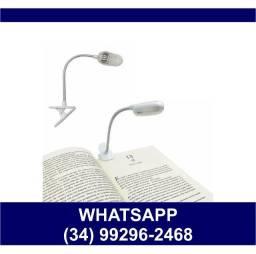 Luminária Presilha para Livro Cadernos Leitura * Fazemos Entregas