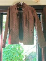 Jaqueta em couro eco Guess