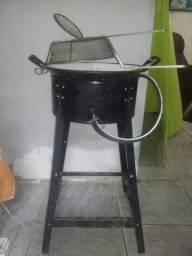 Fritadeira à gás Máquina de batatinha, pastel