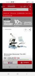 Microscópio novo