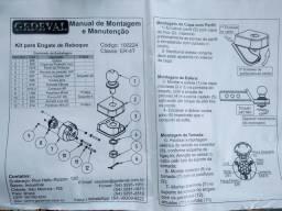 Engate carretinha completo novo Renault Kwid 2107 até 2019