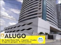 Alugo Ap. no Acqua Home Club - Bairro Universitário