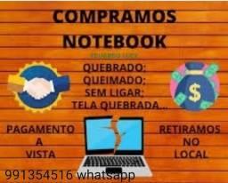 Técnico em Informática, Compr notebook, formatação, conserto