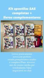 Kit apostilas SAS COMPLETAS + livros complementares
