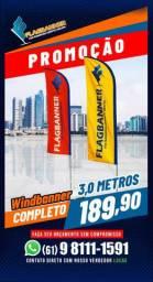 Windbanner - A partir de R$170,00 - O Original. Qualidade Garantida !!!!!!!!
