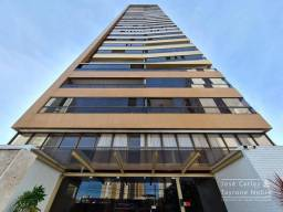 Exclusivo! Apartamento com 128m², 03 qtos, 02 suítes, andar alto, vista mar, varanda gourm