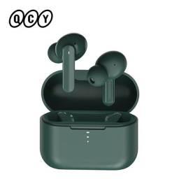 Qcy t10 bluetooth fones de ouvido sem fio controle inteligente 4 redução de ruído