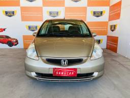 Honda fit EX 1.5 2007 Aut comp + B. Couro