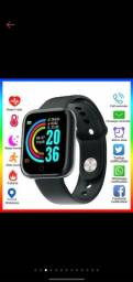 Smartwatch y68 na promoção