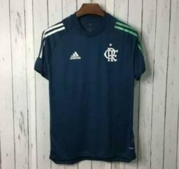 Camisa do Flamengo azul.