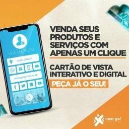 Cartão de visita interativo e digital