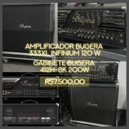 Amplificador Guitarra Bugera 333Xl / Gabinete 412H-BK