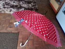 Guarda-chuva grande de ótima qualidade...
