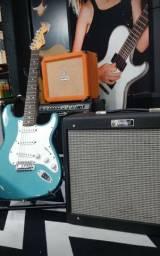 Kit Fender Strato + Blues Junior Americano
