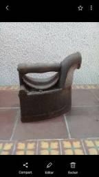 Ferro antigo a brasa