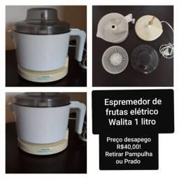 Espremedor de frutas elétrico Walita 1litro branco