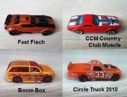 Hot Wheels Lote com 04 miniaturas 1:64