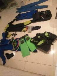 Kit de mergulhador colchão