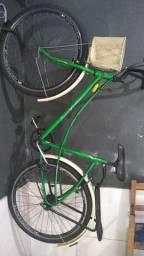 Bicicleta com freio de mão