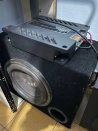 Sub + amplificador