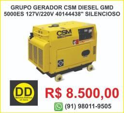 Grupo Gerador CSM Diesel GMD 5000Es 127v/220v