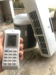 Título do anúncio: Ar condicionado de 9.000 btus já instalado