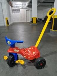 Título do anúncio: Triciclo Cachorrinho com empurrado Xalingo