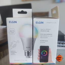 Lâmpada inteligente Elgin smart color compatível com Alexa