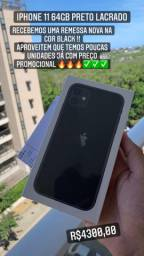 iPhone 11 64gb lacrado con NF