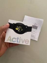 Galaxy watch Active 1, preto nunca usado, 1 ano de garantia e nota fiscal!!