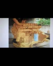 Vendo motor do trator D4