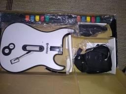 Guitarra sem fio para ps2