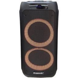 Caixa De Som Ecopower Ep S203 Portátil Bluetooth Fm Usb Sd