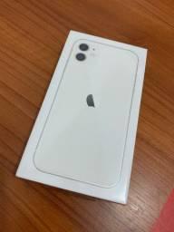 iPhone 11 Branco, 64gb - Novo + Lacrado + Nota Fiscal + 1 ano Garantia Apple