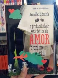 Livro - a probabilidade estatística do amor a primeira vista