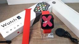 relógio smartwatch x16 iwo 13 max faz e recebe chamadas