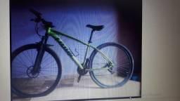 Bike Lotus Verde/Preta