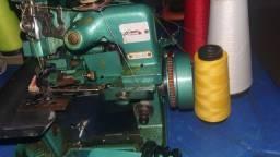 Máquina overlock portátil
