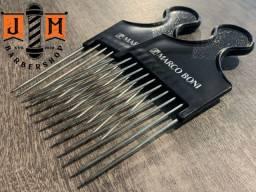 Pente Metal Marco Boni para cabelos cacheados e afro - tec afro Nudred