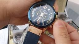 Relógio Luxo Curren cronograph